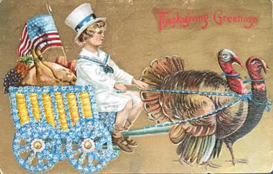 Turkey Wagon by Yesterdays-Paper