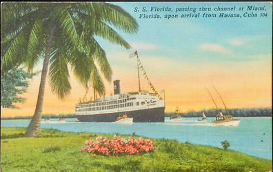 SS Florida - Miami to Havana by Yesterdays-Paper