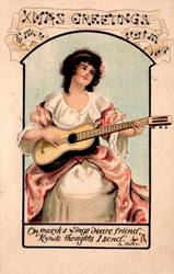 She Plays the Spanish Guitar by Yesterdays-Paper