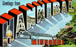 Large Letter Postcard - Hannibal MO by Yesterdays-Paper
