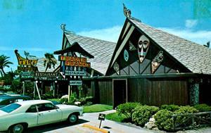 Vintage Florida - Tiki Gardens + Trader Frank's by Yesterdays-Paper