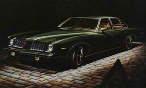 1974 Pontiac Grand Am by Yesterdays-Paper