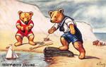 Teddy Boys Sailing by Yesterdays-Paper