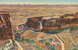 Vintage Colorado - Fruita Canyon, Monument Rim by Yesterdays-Paper