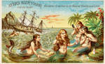 Victorian Advertising - Best For Mermaids by Yesterdays-Paper