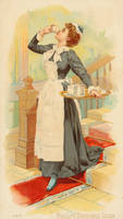 Victorian Advertising - Nutritious Cocoa by Yesterdays-Paper