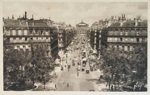 Vintage Europe - Avenue de l'Opera, Paris by Yesterdays-Paper