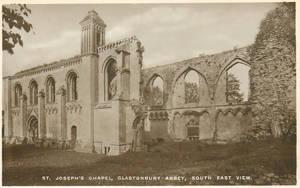Vintage UK - St. Joseph Chapel, Glastonbury Abbey by Yesterdays-Paper