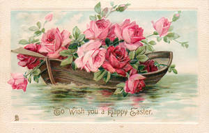 Flowers of Springtime - Rose Boat by Yesterdays-Paper