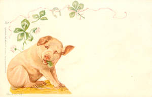 This Little Piggy Brought You Luck by Yesterdays-Paper