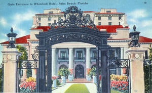 Vintage Hotels - The Whitehall, Palm Beach FL by Yesterdays-Paper