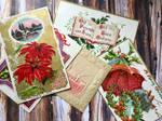 Vintage Christmas Holiday Cards Assortment by Yesterdays-Paper