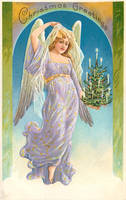 Evergreen Angel - Lavender by Yesterdays-Paper