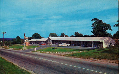 Vintage Motels - The Chateau, Westport MA by Yesterdays-Paper