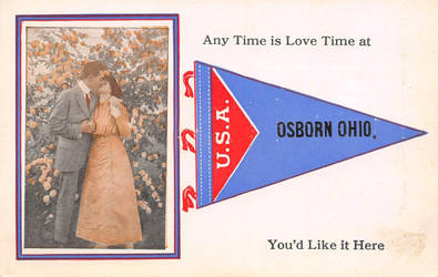 Vintage Ohio - Any Time Is Love Time in OSBORN by Yesterdays-Paper