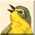 Yellowthroat Warbler Icon - Left by Yesterdays-Paper