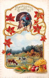 Happy Thanksgiving Wishes by Yesterdays-Paper