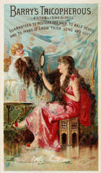 Victorian Advertising - Great Hair by Yesterdays-Paper