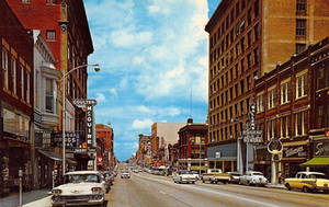Vintage Missouri - Main Street, Joplin by Yesterdays-Paper