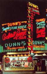 Night Scene Postcards - Neon Deli Lights, Montreal by Yesterdays-Paper