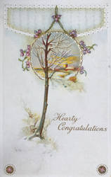 Wintertide, Heather + Hearty Congratulations by Yesterdays-Paper