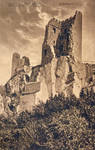 Vintage Europe - The Drachenfels by Yesterdays-Paper
