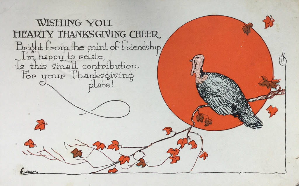 Thanksgiving Cheer by Yesterdays-Paper