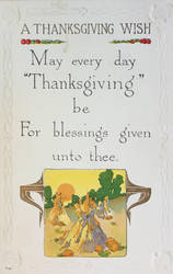 May Every Day Thanksgiving Be by Yesterdays-Paper