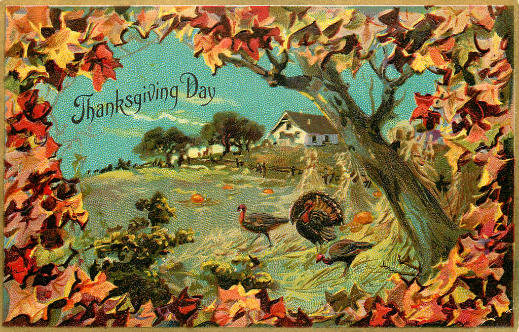 A Peaceful Thanksgiving Day by Yesterdays-Paper
