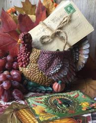 Harvest Decor by Yesterdays-Paper