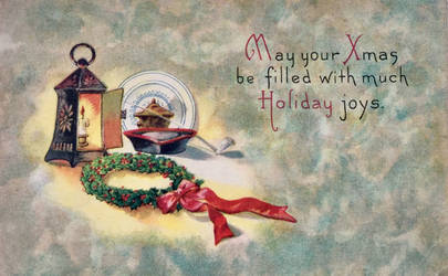 Vintage Christmas - Colonial Comfort + Joy by Yesterdays-Paper