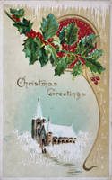 Vintage Christmas - The Holly and The Ivy by Yesterdays-Paper