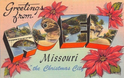 Large Letter Postcard - Noel, Missouri by Yesterdays-Paper