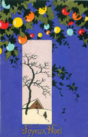 Vintage Christmas - Joie Bleue Moderne by Yesterdays-Paper