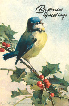 Vintage Christmas - There's A Song In The Air by Yesterdays-Paper