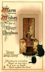 Vintage Christmas - Home Sweet Home by Yesterdays-Paper