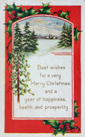 Vintage Christmas - A Good Strong Wish by Yesterdays-Paper