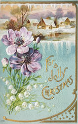 Vintage Christmas - Jolly Blossoms by Yesterdays-Paper