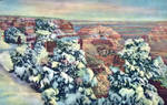 Vintage Arizona - Grand Canyon in Winter by Yesterdays-Paper