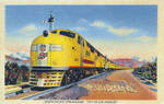 Union Pacific Streamliner - City Of Los Angeles by Yesterdays-Paper