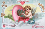 Cupid's Easter Melody by Yesterdays-Paper