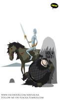 Poor Samwell Tarly... by JoseRealArt