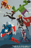 The Avengers by JoseRealArt