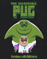 The Incredible Pug by JoseRealArt