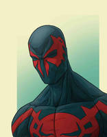Spiderman 2099 by JoseRealArt