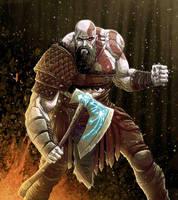 Kratos by JoseRealArt
