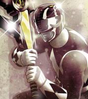 Black Ranger by JoseRealArt