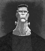 Frankenstein's Monster by JoseRealArt