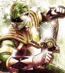 Green Ranger by JoseRealArt