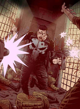 The Punisher by JoseRealArt